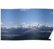 Sierra Mountains Poster