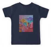 037 Abstract Thought Kids Tee