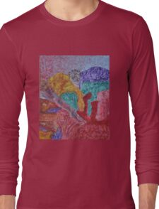 037 Abstract Thought Long Sleeve T-Shirt