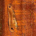 Macro photo of rust by crazylemur