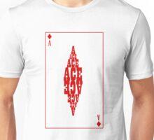 Ace of Diamonds Unisex T-Shirt