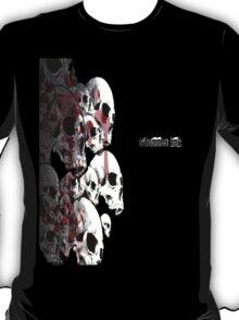 Stack O' Skulls w/Stunner Ink V.2 (ONLY Black) T-Shirt
