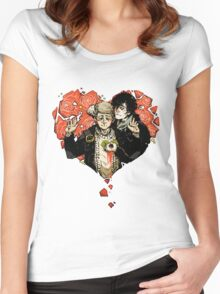 Sherlock: The Reichenbach Fall 2 Women's Fitted Scoop T-Shirt