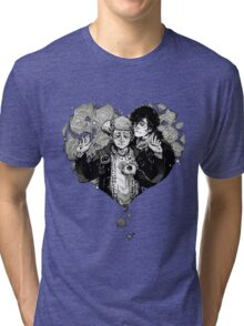 Sherlock: The Reichenbach Fall Grey Tri-blend T-Shirt