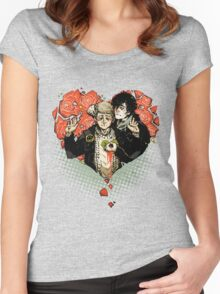 Sherlock: The Reichenbach Fall Women's Fitted Scoop T-Shirt