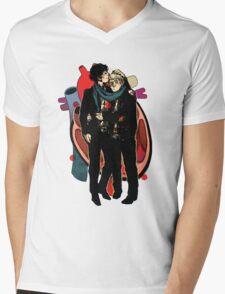 Sherlock: HEART and mind Mens V-Neck T-Shirt
