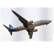FlyDubai - Boeing 737-800 Poster