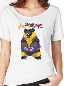 WolBEARine Women's Relaxed Fit T-Shirt