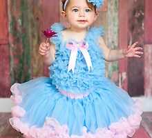 Pink and Blue Frills by Belle Farley