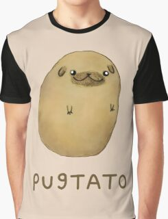 Pugtato Graphic T-Shirt