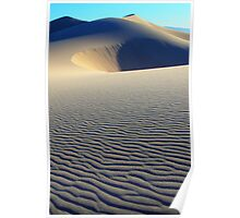 Death Valley Patterns In The Sand Poster