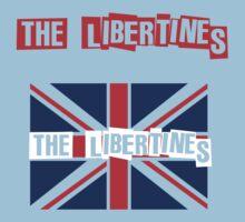 Indie-The Libertines Baby Tee