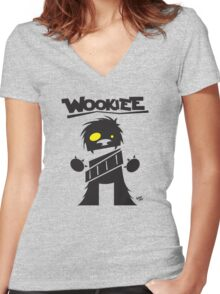 Wookiee Women's Fitted V-Neck T-Shirt