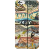 Tropical Fusions (Panels x 4) iPhone Case/Skin