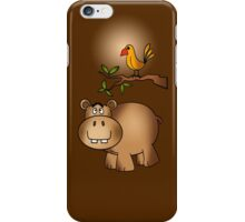 Hippo po and Birdie iPhone Case/Skin
