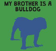 My Brother Is A Bulldog Kids Tee