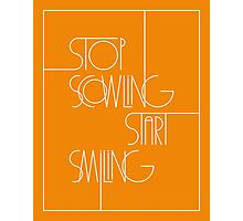 Stop Scowling • Fanta Photographic Print