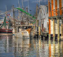 Galveston Shrimp Boats by Savannah Gibbs