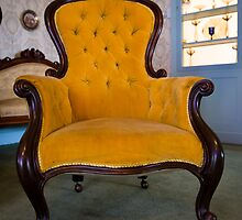 Yellow Chair at Home Hill by Kelly Slater