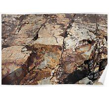 Rock Textures, 1 Poster