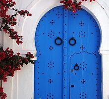 Doorway In Tunisia by Bob Christopher