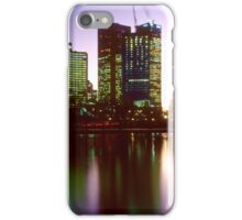 Melbourne City Lights Reflected in the Yarra River - iPhone/iPod Case iPhone Case/Skin