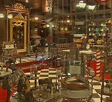 The Old'e English Shaving Shop by awefaul