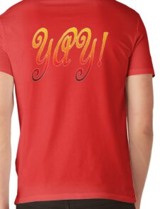 Yay! Mens V-Neck T-Shirt