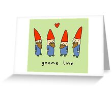 Gnome Love Greeting Card