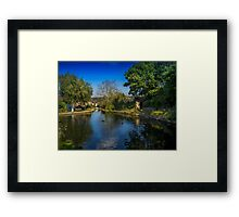 St Dogmaels Pond Framed Print