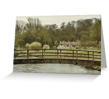 Early Spring in the Counties Greeting Card