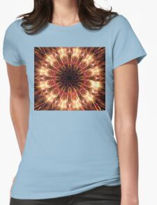 Mauve Lily Womens Fitted T-Shirt