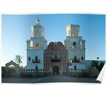 San Xavier del Bac Mission Arizona Poster