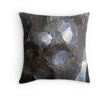 Limestone Scream Throw Pillow