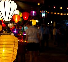 Night Market, Hoi An, Vietnam by John Raftery