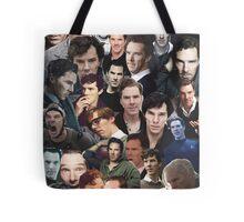 Benedict Cumberbatch Collage Tote Bag