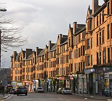 Glasgow tenements by jayview