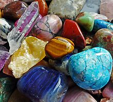 Colourful Stones by DarthIndy