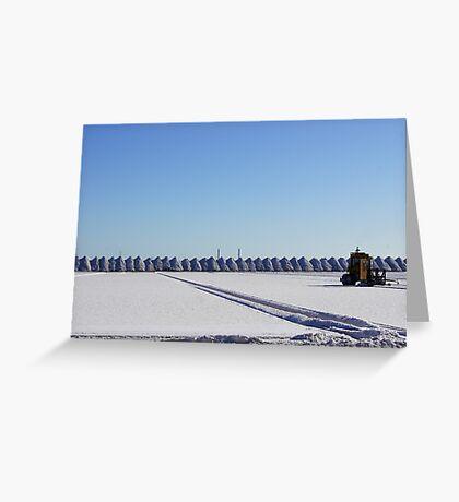 Salt Flats Greeting Card