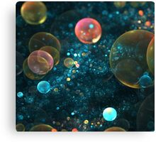 MACRO VIEW OF SPACE Canvas Print