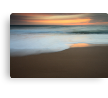 The light of dawn Canvas Print