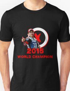 Jorge Lorenzo: 2015 World Champion in MotoGP (A) T-Shirt