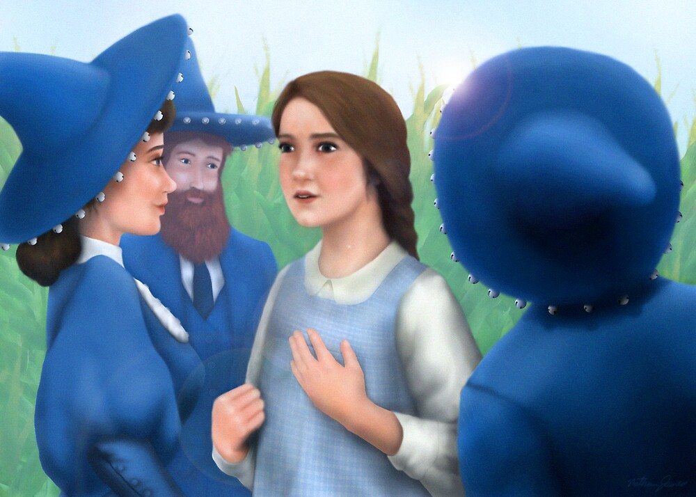 Dorothy and the Munchkins by Nathan James