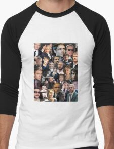 Martin Freeman Collage Men's Baseball ¾ T-Shirt