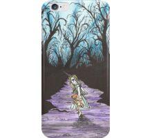 Alice on the Run iPhone Case/Skin