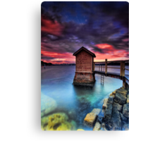 The Pump House Canvas Print