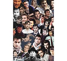 David Tennant Collage Photographic Print