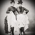 1. Vintage Can-can dancers: Classy! by Ian A. Hawkins
