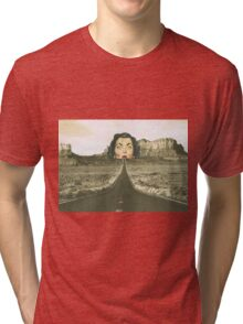 The road ahead  Tri-blend T-Shirt