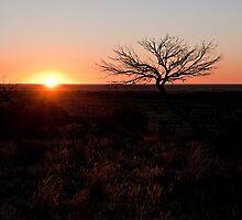 White Cliffs sunset by Jason Ruth